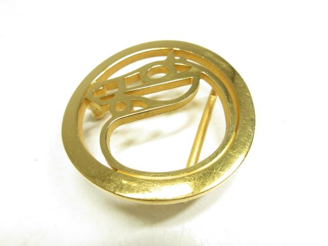 【エルメス HERMES】 馬 バックル GOLD (メンズ/レディース) ベルト専用バックル  ●1CC0434● 【中古】