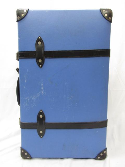 【グローブトロッター GLOBE TROTTER】 サファリ26インチ キャリースーツケース ブルー ●1SC0126● 【中古】
