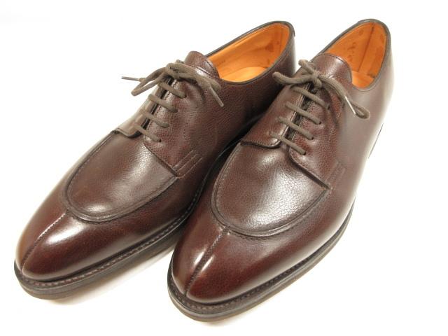 未使用品 ジョンロブ JOHN まとめ買い特価 LOBB ノルウェイ NORWAY 外羽根5アイレット メンズ ブラウン 8HT920 紳士靴 日本全国 送料無料 7.5E8695 ドレスシューズ 中古