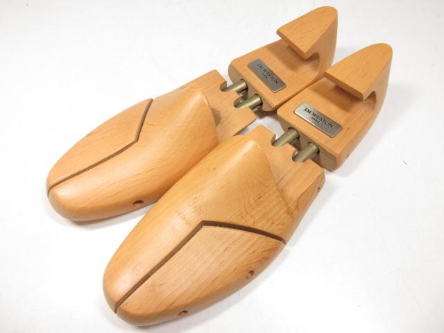 低廉 公式ショップ 美品 J.M.ウエストン J.M.WESTON 木製シューツリー メンズ ○18ST1274○ 大切なお靴の保管に 中古 size8