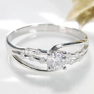 Pt900 大粒 ダイヤモンド リング【無色透明】【H-SIクラス】【0.4ct】【送料無料】一粒 ゴージャス ジュエリー 人気 レディース 指輪 個性的 豪華 4月誕生石 品質保証書 指輪 ご褒美 プレゼント ギフト プラチナ ダイヤリング ダイア diamond ring
