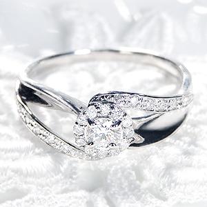 Pt900 ダイヤモンド リング【約 0.36ct】【ソーティング付】【送料無料】ジュエリー 人気 指輪 4月誕生石 品質保証書 指輪 プレゼント フラワー ギフト 0.3ct プラチナ 結婚 ブライダルリング エンゲージリング 婚約指輪