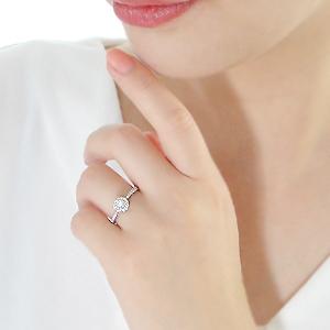 Pt900 ダイヤモンド 取り巻き リング【0.43ct】可愛い おしゃれ ジュエリー 人気 レディース 豪華 4月誕生石 品質保証書 指輪 ご褒美 プレゼント ギフト プラチナ ダイヤリング ダイア ダイヤモンドリング