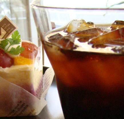 Subdivisions required that water for making ice coffee ◆ 500 g bag-Ice Coffee-