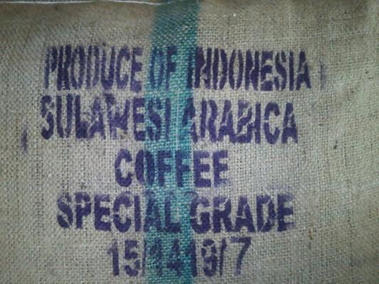 【コーヒー生豆】インドネシアスラウェシアラビカ10kg【送料無料】