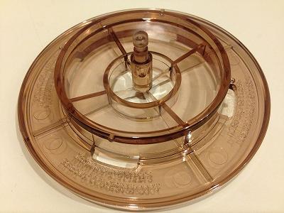 쿠레바코히드립파의 릴리스 링(하부의 둥근 부품)