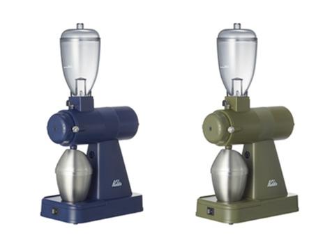 カリタの電動コーヒーミルKarita NEXT G。静電除去装置付