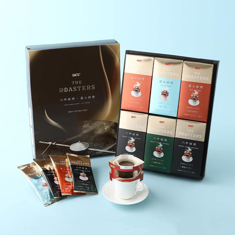THE ROASTERS 六甲焙煎・富士焙煎 コーヒーギフト