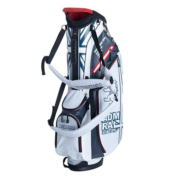 Admiral Golf 軽量 スタンド キャディバッグ ライトウェイト STスタンドバッグ ゴルフバッグ キャディーバッグ UNISEX【送料無料】アドミラル ゴルフ 2020春夏 admiral golf