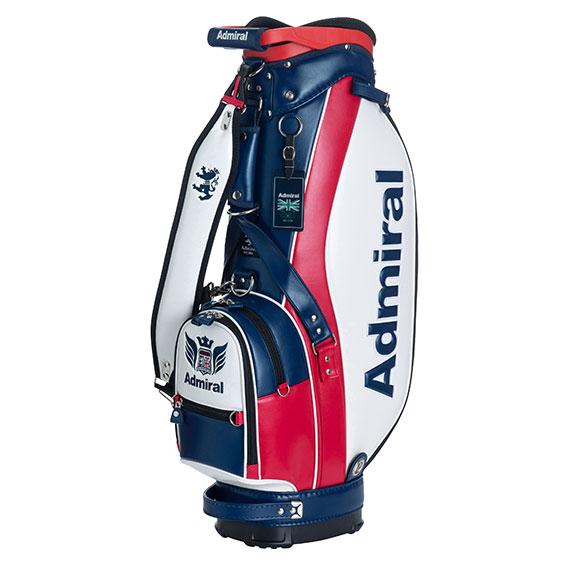 【父の日】【プレゼント】アドミラルゴルフ ゴルフバッグ キャディー セルフスタンド ミッドセンチュリースタイル メンズ レディース Admiral Golf 2020春夏 【送料無料】