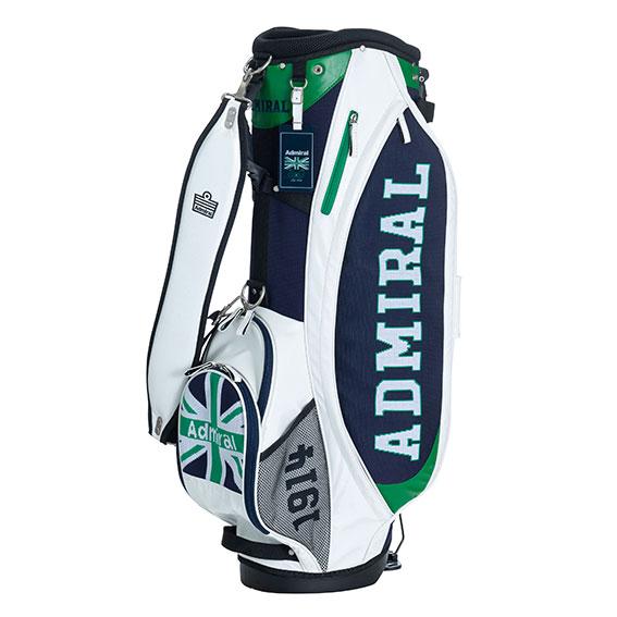 アドミラルゴルフ ゴルフバッグ キャディー セルフスタンド 3Dニット スタンドバッグ メンズ レディース Admiral Golf 2020春夏 【送料無料】