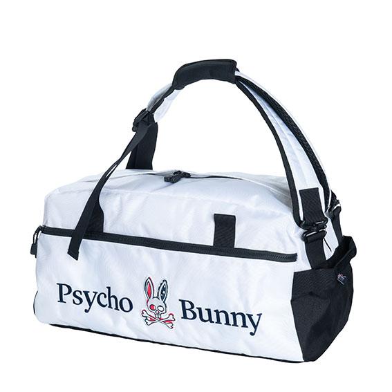 【父の日】【プレゼント】サイコバニー 2WAYボストンバッグ Psycho Bunny ゴルフ PB WIT S/B 2WAY BOSTON ロッカーバッグ【送料無料】