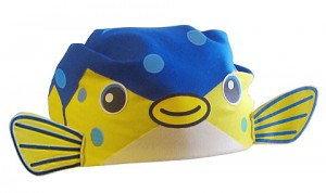 さかなクン なりきりバンダナ 送料無料メール便 ハコフグ帽子 (05508)