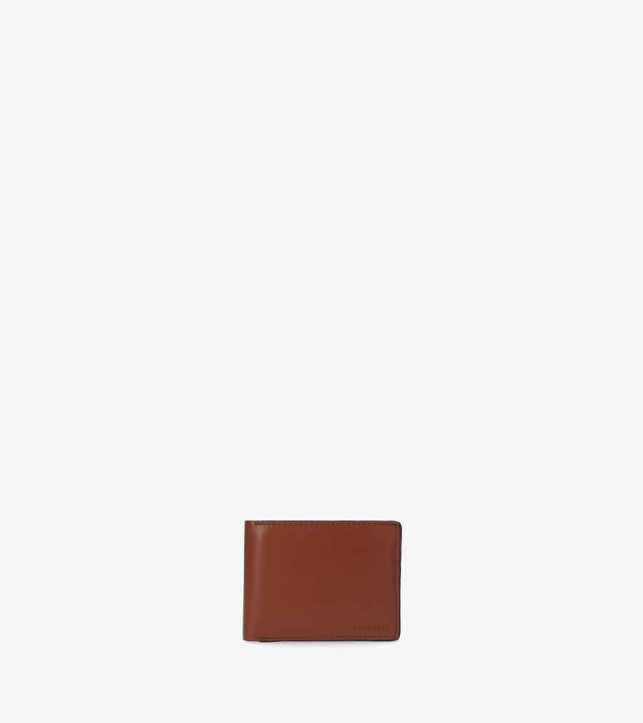 コールハーン Colehaan アウトレット メンズ アウトレット バッグ & アクセサリー 財布 ケネディー ビルフォールド パスケース付 mens F11052 ブランディー ブラウン