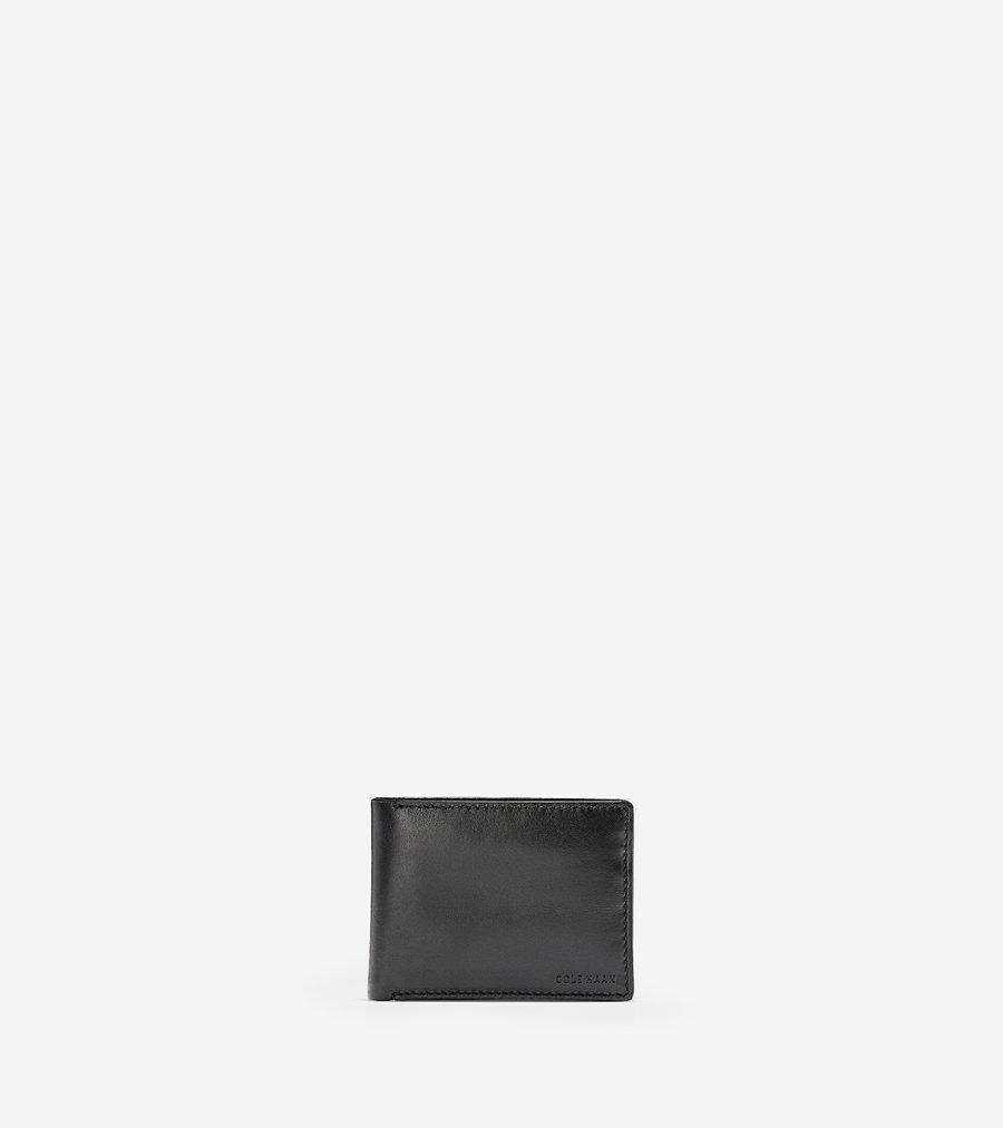 コールハーン Colehaan メンズ バッグ & アクセサリー 財布 ハミルトン グランド ビルフォールド パスケース付 mens F11097 ブラック