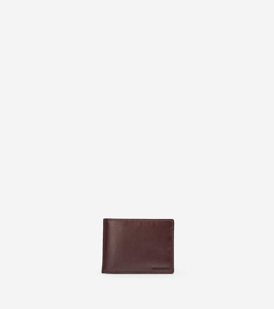 コールハーン Colehaan メンズ バッグ & アクセサリー 財布 ハミルトン グランド ビルフォールド パスケース付 mens F11098 コードバン