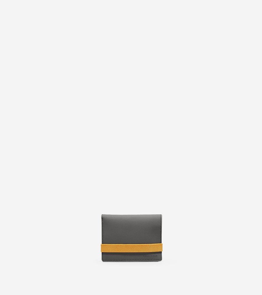 コールハーン Colehaan メンズ バッグ & アクセサリー 財布 ソイヤー ビルフォールド ウォレット イラスティック付き mens F11283 クワイエット シェード