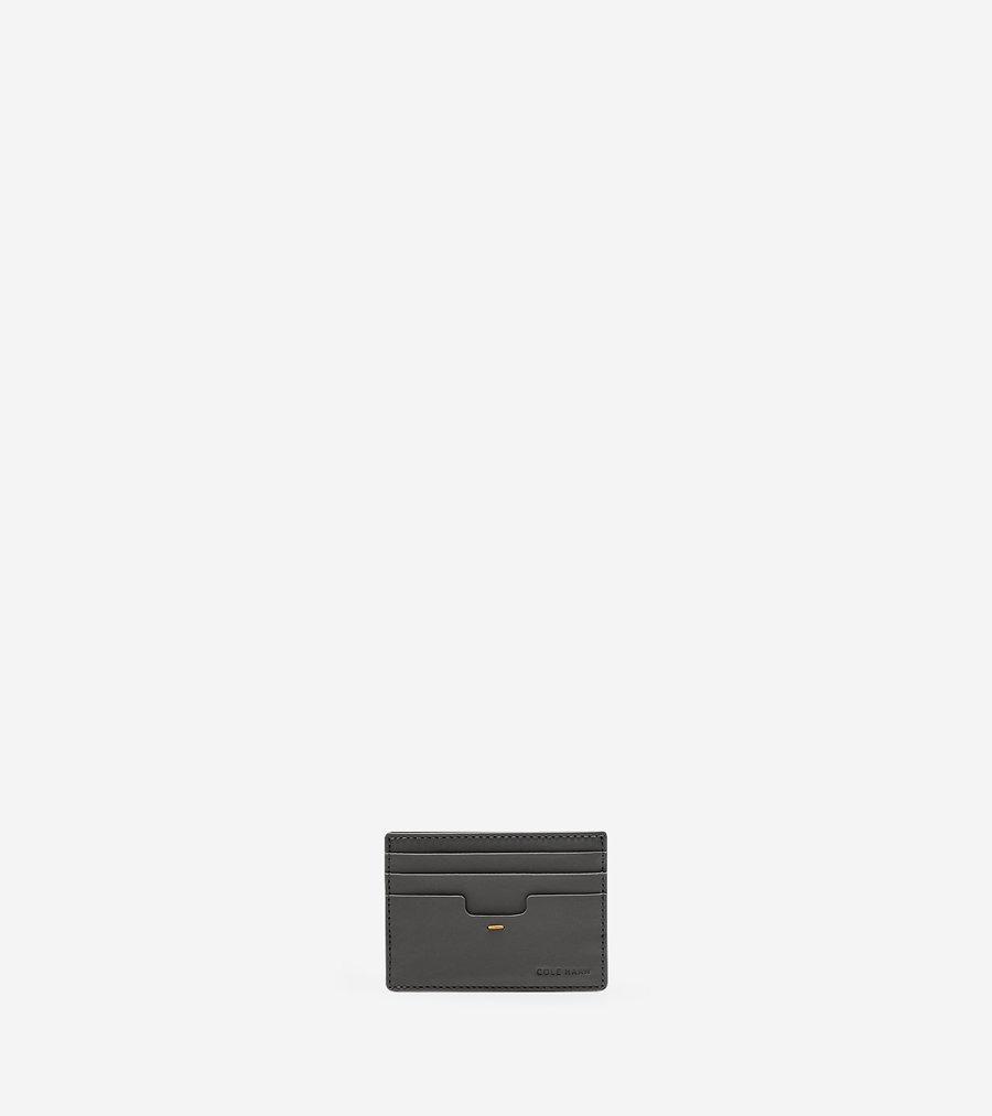コールハーン Colehaan メンズ バッグ & アクセサリー 財布 ソイヤー カードケース mens F11284 クワイエット シェード
