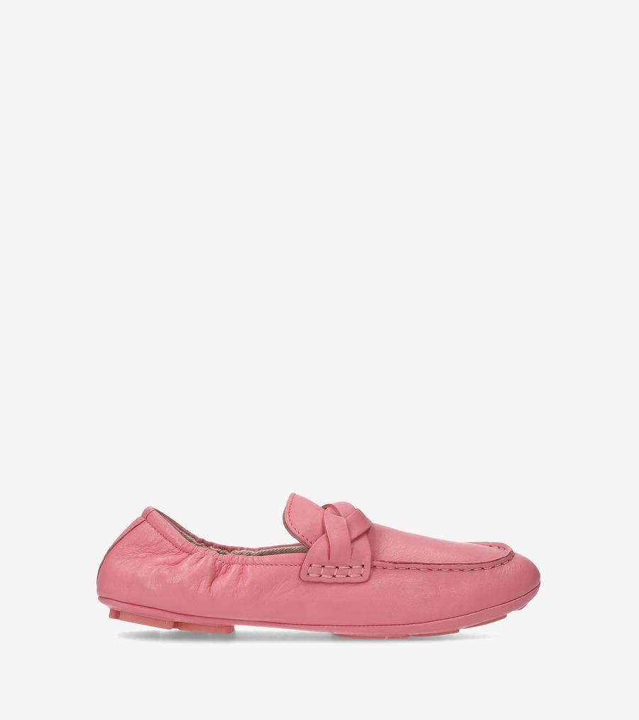 コールハーン Colehaan ウイメンズ シューズ バレエ & フラット オデット ドライバリーナ womens W14352 フラミンゴ ピンク