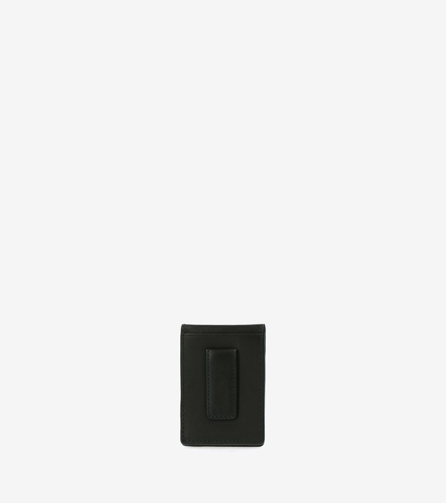 コールハーン Colehaan アウトレット メンズ アウトレット バッグ & アクセサリー 財布 フォールド カード ケース W/ マネー クリップ mens F11421 パイン グリーン