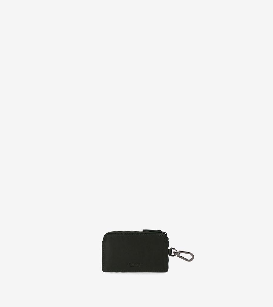 コールハーン Colehaan アウトレット メンズ アウトレット バッグ & アクセサリー 財布 ジップ カード ケース W/ キーリング mens F11444 パイン グリーン