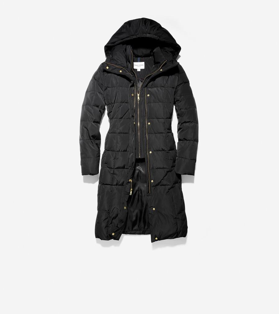 コールハーン Colehaan アウトレット ウィメンズ アウトレット アパレル シグネチャー 40IN ダウン コート womens T10116 ブラック