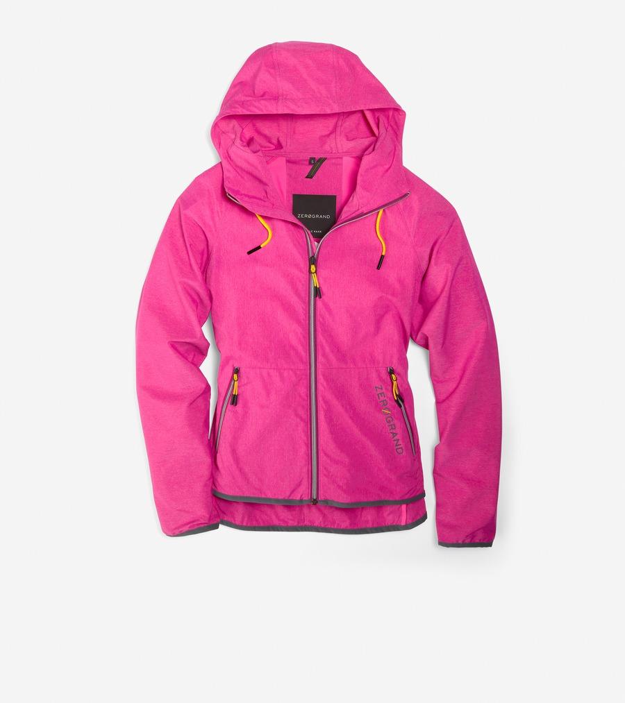コールハーン Colehaan ウイメンズ アパレル ゼログランド パッカブル ランニング ジャケット womens T10277 ピンク グロー