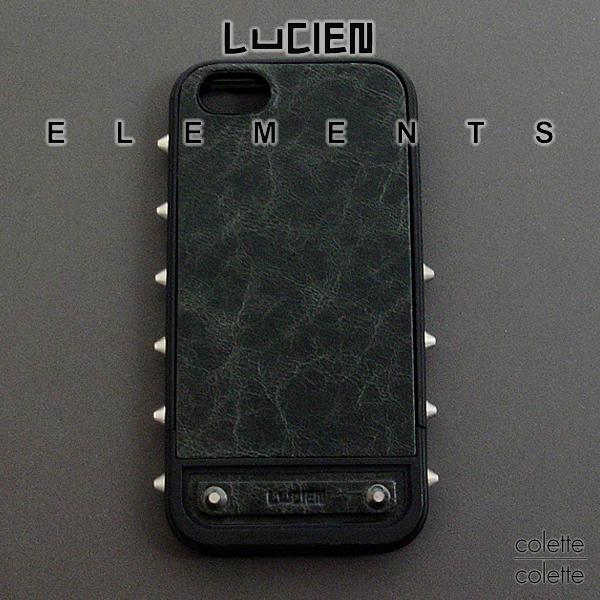 【 SALE サンプル品 箱無し 若干の小キズあり 】 LUCIEN ELEMENTS ルシアン エレメンツ iPhone5 ケース iPhone 5対応 hearts スワロフスキーiフォンカバーケースi phone5 ルシアンエレメンツ LUCIEN ELEMENTS iphone5 ケース ブランド