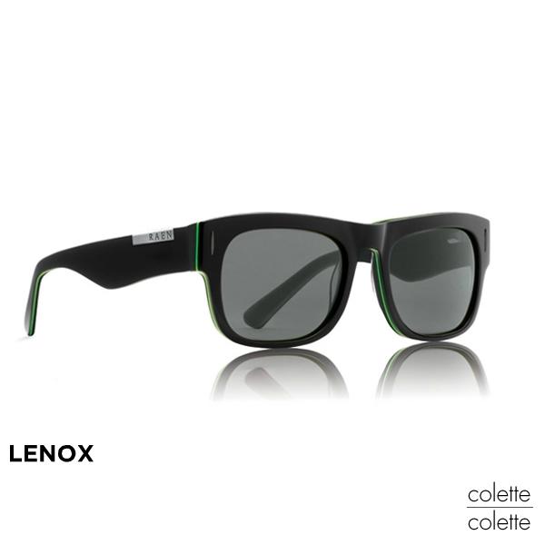 RAEN レイン サングラス メンズ「LENOXレノックス」ブラック×グリーンレインサングラス スポーツ【正規品】【定番商品】レインサングラス ブランド