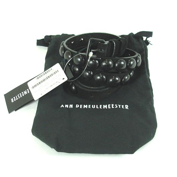【SALE】 ANN DEMEULE MEESTER(アンドールメステール)メンズベルトアンドールメステールスタッズベルトANN DEMEULE MEESTER(アンドールメステール)メンズスタッズベルト