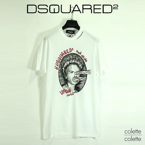 【SALE】ディースクエアード DSQUARED2 メンズ tシャツ 『 PUNK SKI SKA 』【正規品】 ディースク ロゴTシャツ dsquared2 DSQUARED2 ( ディースクエアード )メンズ PUNK SKI SKA  dsquared