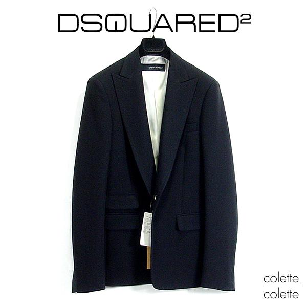 【SALE】ディースクエアード2 DSQUARED2メンズ■ディースク ジャケット ブラック dsquared2【正規品】DSQUARED2 JAKET BLACK dsquared
