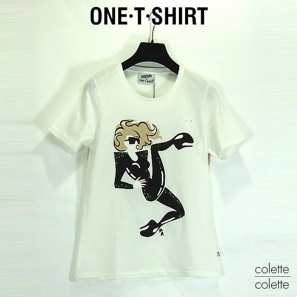 ONE-T-SHIRT ワンTシャツ レディース Tシャツ ホワイト ■ ロックT 『 Lady Gaga 』レディーガガ 【正規品】 ONE-T-SHIRT ワンTシャツ レディース Tシャツ LADY GAGA レディーガガ