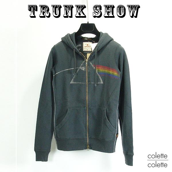 【SALE】トランクショーTRUNK SHOW (トランクショー )レディース パーカー ピンクフロイド □ レディース ジップアップパーカー Pink Floyd ( ピンクフロイド ) TRUNK SHOW ( トランクショー ) ピンクフロイド