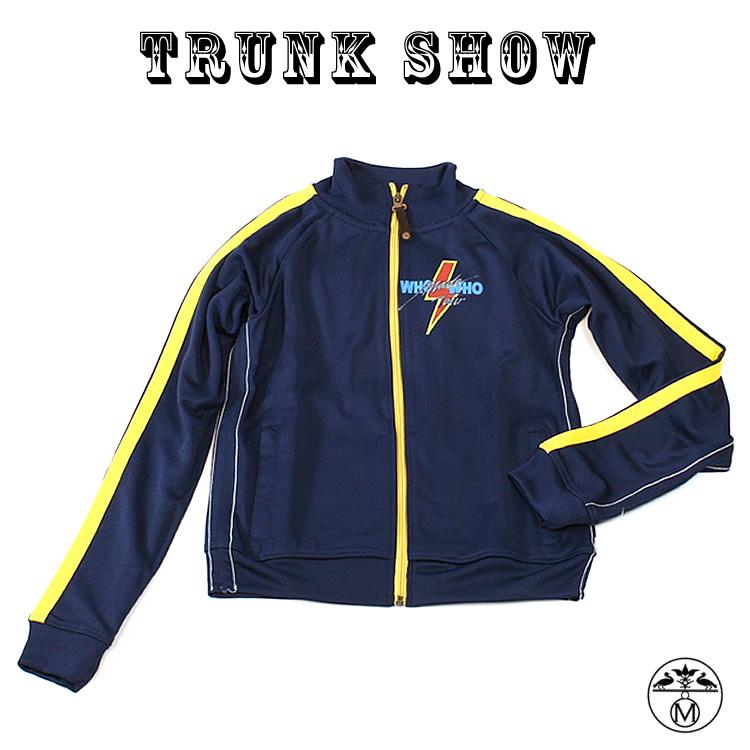 トランクショーTRUNK SHOW ( トランクショー ) キッズTシャツ ■ トラックジャケット AC/DC ( エーシーディーシー ) TRUNK SHOW ( トランクショー ) キッズ