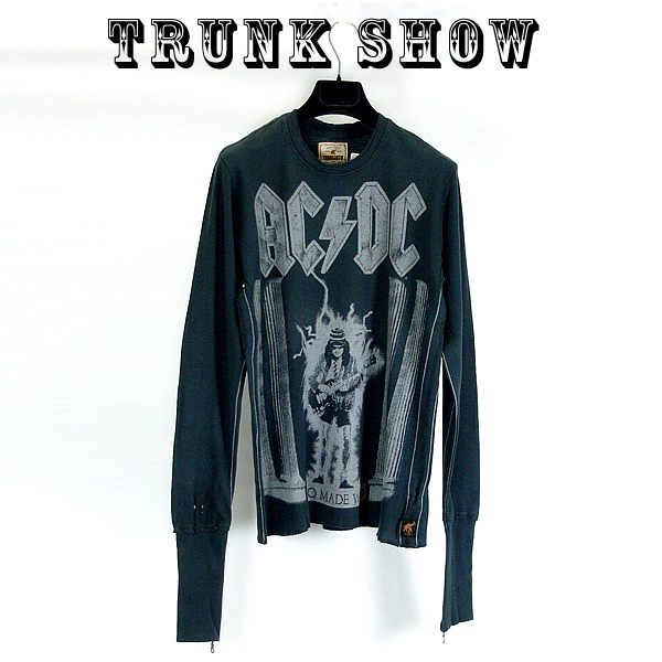 【SALE】トランクショーTRUNK SHOW ( トランクショー ) メンズTシャツ AC/DC ( エイシーディーシー ) TRUNK SHOW ( トランクショー ) メンズTシャツ AC/DC ( エイシーディーシー )