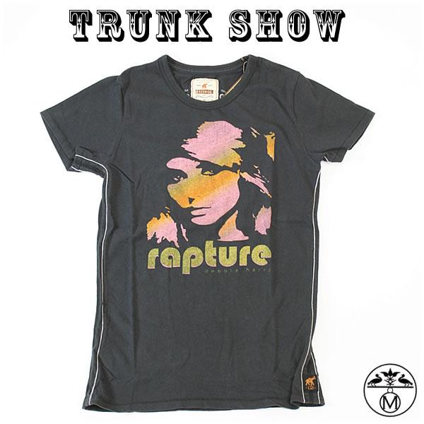 トランクショー TRUNK SHOW トランクショー レディースTシャツ ロックTシャツ Brondie(ブロンディ)RAPTURE BLACK TRUNK SHOW トランクショー レディースTシャツBrondie