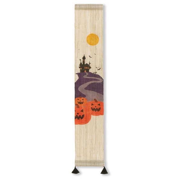 京都洛柿庵 秋の飾り 手描き豆タペストリー トリックオアトリート:逸品shopコレコレ
