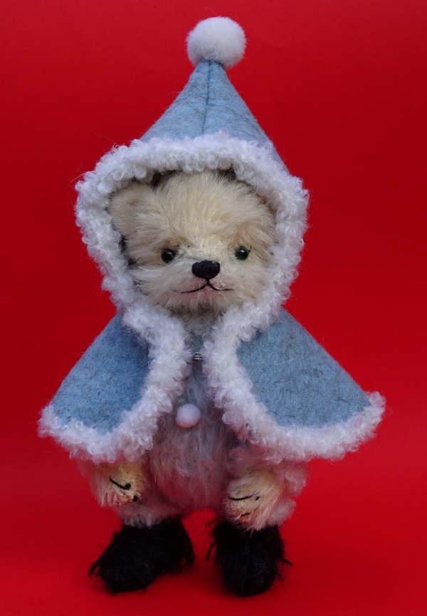 古池晴美製作テディベア2019 メリークリスマスTonton 冬の装い
