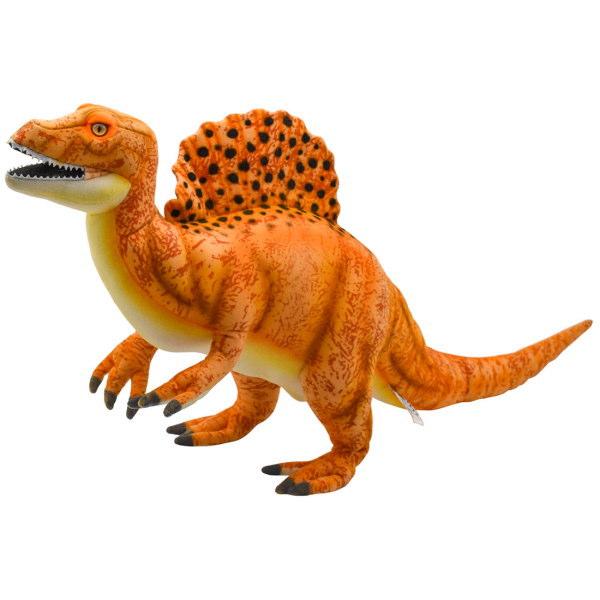 ハンサ【HANSA】ぬいぐるみスピノサウルス オレンジ