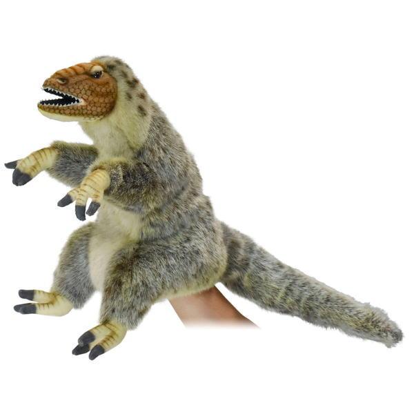楽天市場】ハンサ HANSA ぬいぐるみハンドパペット ユウティラヌス50 恐竜:逸品shopコレコレ