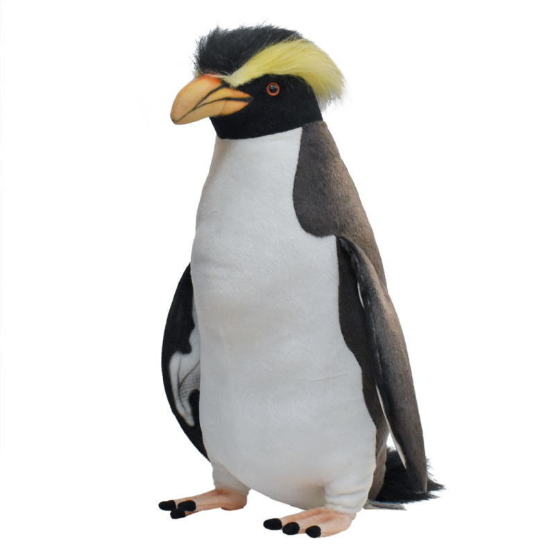 ハンサ【HANSA】ぬいぐるみイワトビペンギン50cm 岩飛びぺんぎん