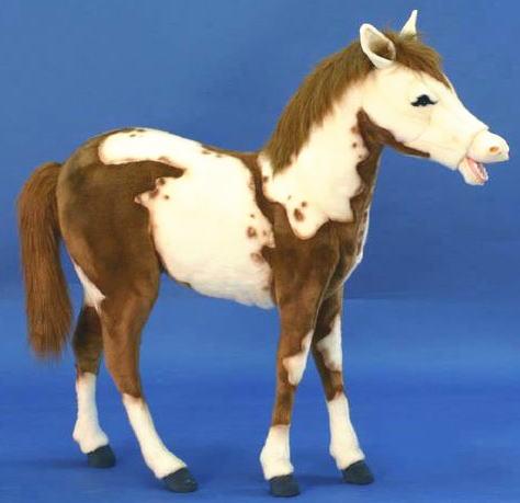 【HANSA】ぬいぐるみピント仔馬100cm