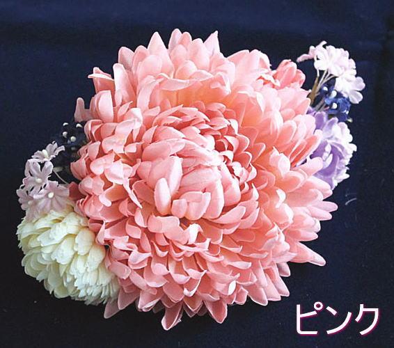 【アトリエ染花プロデュース】花火・夏祭り・和装に、洋装に♪髪飾り 浴衣 成人式 結婚式七五三 花 フラワー和装フラワー髪飾り ふわり3