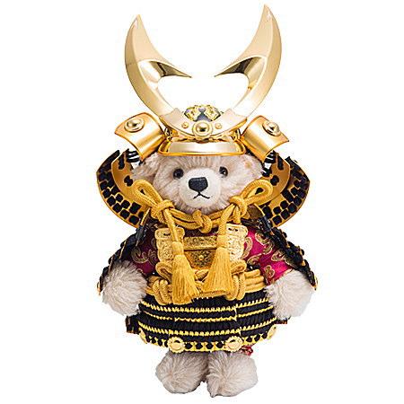 Steiff シュタイフ テディベア製造限定 サムライ2019五月人形 贈り物 あす楽対応 即日発送可