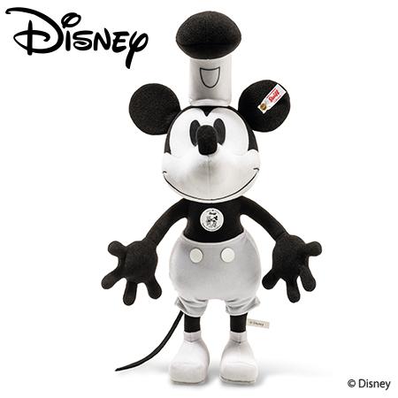 【シュタイフ正規販売店】Steiff シュタイフ 世界限定ディズニー蒸気船ウィリーミッキーマウス