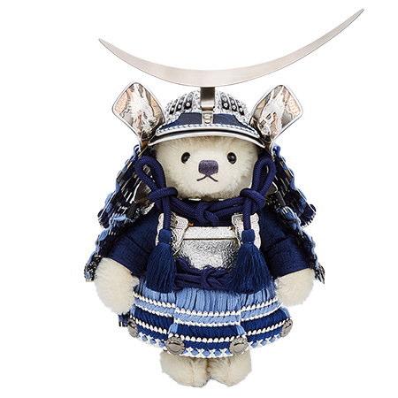 【シュタイフ正規販売店】Steiff シュタイフ テディベア日本限定 サムライ2020 三日月五月人形 贈り物 プレゼント
