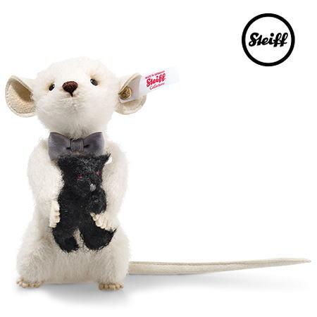 【シュタイフ正規販売店】新入荷 Steiff シュタイフ ペキーマウスとテディベア