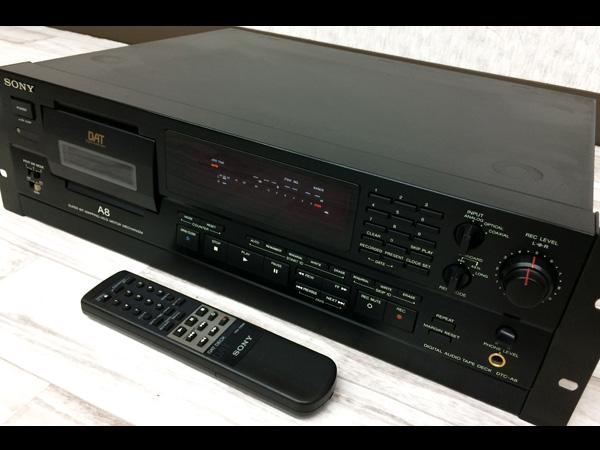 M2063★SONY DTC-A8 DATデッキ リモコン付き ソニー★0531【中古】