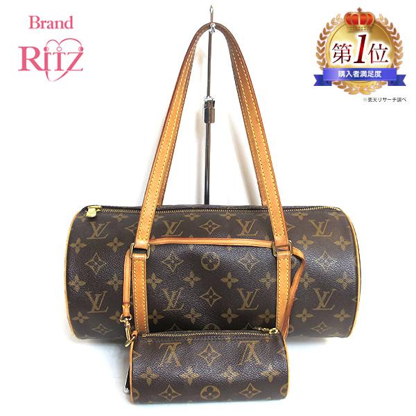 45f71f37c6 ☆ Louis Vuitton bag papillon 30 monogram M51385 AB rank handbag lady's used  Mita shop with the porch